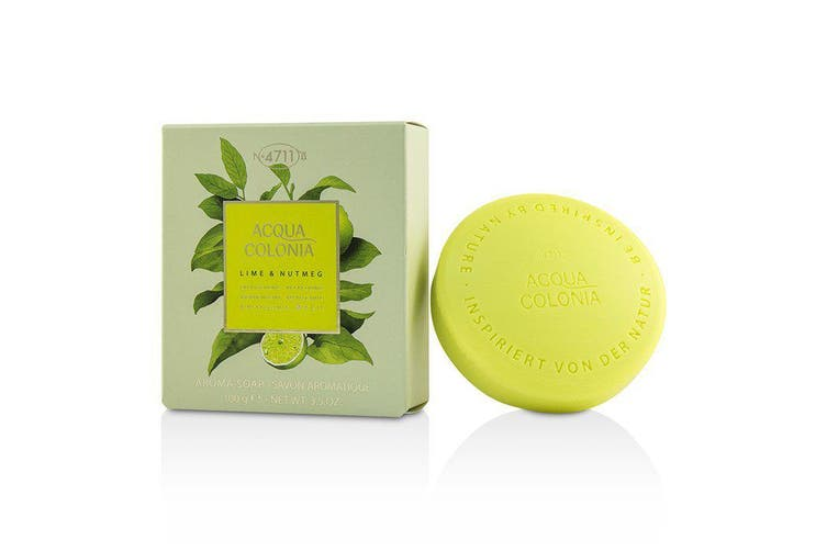 4711 Acqua Colonia Lime & Nutmeg Aroma Soap 100g