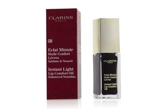 Clarins Eclat Minute Instant Light Lip Comfort Oil - # 08 Blackberry 7ml