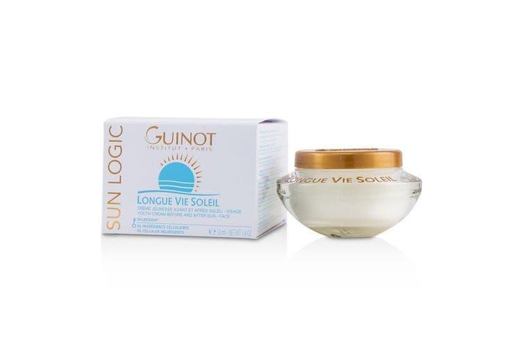 Guinot Sun Logic Longue Vie Soleil Youth Cream Before & After Sun - For Face 50ml