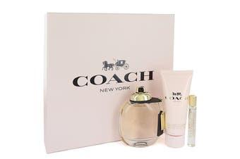 Coach Gift Set - 3 oz Eau De Parfum Spray + Mini Eau De Parfum Spray + 3.3 oz Body Lotion