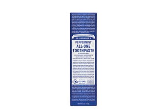 Dr. Bronner's Toothpaste (All-One) Peppermint 140g