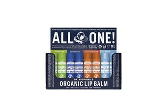Dr. Bronner's Organic Lip Balm Mixed 4g x 48 Display