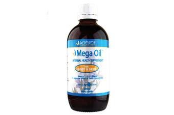 Grahams Natural Mega Oil 200ml