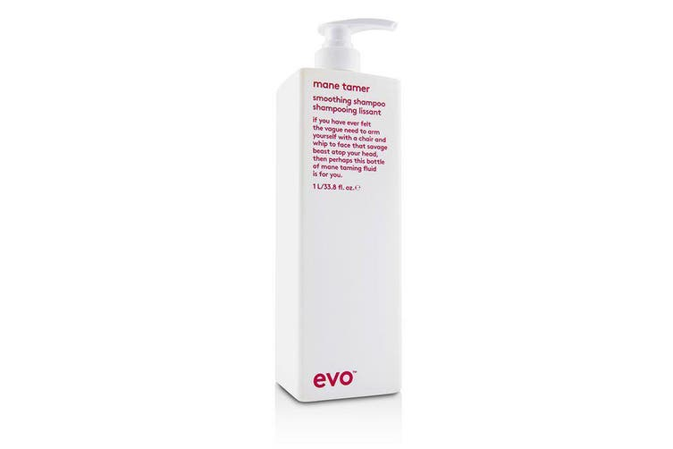 Evo Mane Tamer Smoothing Shampoo 1000ml