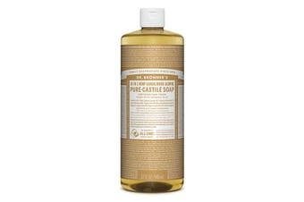 Dr. Bronner's Pure-Castile Soap Liquid (Hemp 18-in-1) Sandalwood Jasmine 946ml