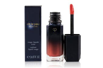 Cle De Peau Radiant Liquid Rouge - # 16 (Bright Orange) 5.5ml