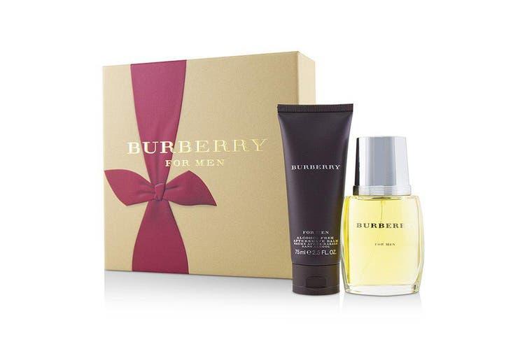 Burberry Coffret: Eau De Toilette Spray 50ml + After Shave Balm 75ml 2pcs