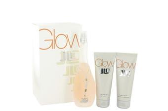 Jennifer Lopez Glow Gift Set - Eau De Toilette Spray + 2.5 oz Body Lotion + 2.5 oz Shower Gel