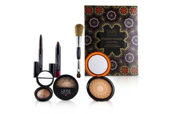 Laura Geller Mediterranean Journey A 6 Piece Collectin Of Sultry Color Essentials - # Fair 6pcs