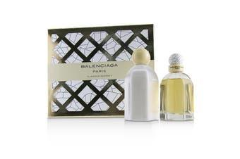 Balenciaga Coffret: Eau De Parfum Spray 75ml + Body Lotion 200ml 2pcs