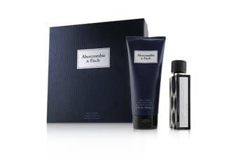 Abercrombie & Fitch First Instinct Blue Coffret: Eau De Toilette Spray 50ml + Hair & Body Wash 200ml 2pcs