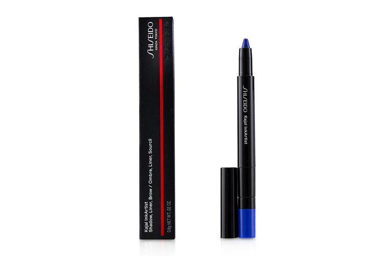 Shiseido Kajal InkArtist (Shadow, Liner, Brow) - # 08 Gunjo Blue (Blue) 0.8g