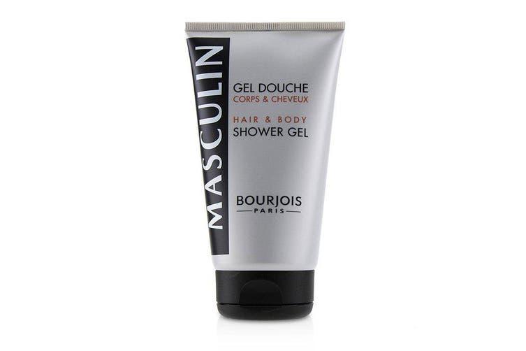 Bourjois Masculin Coffret: Jeux De Nuit Eau De Toilette Spray 100ml + Hair & Body Shower Gel 150ml 2pcs