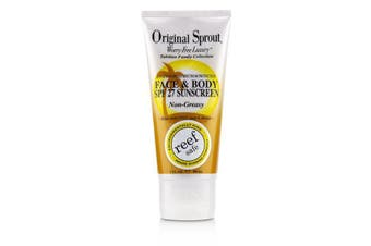 Original Sprout Tahitian Family Collection Face & Body Non-Greasy Suncreen 90ml