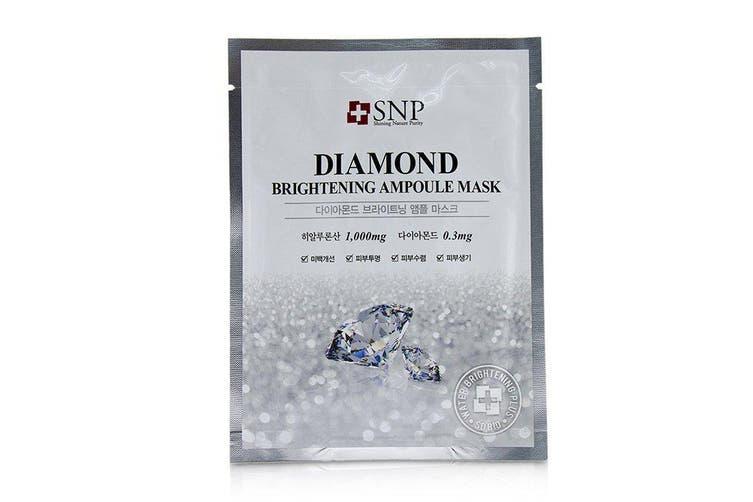 SNP Diamond Brightening Ampoule Mask 11x25ml