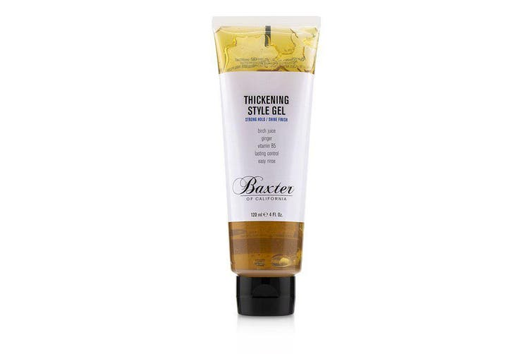 Baxter Of California Thickening Style Gel (Strong Hold/ Shine Finish) 120ml