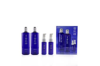 Kose Medicated Sekkisei Lotion Duo Set: 2x Medicated Sekkisei 360ml + 2x Sekkisei Emulsion 20ml 4pcs