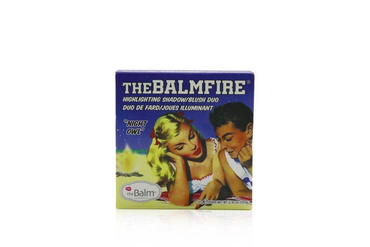 Thebalmfire (Highlighting Shadow/Blush Duo) - # Night Owl 10g