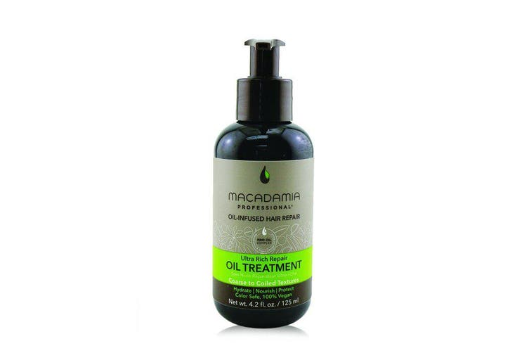 Macadamia Natural Oil Professional Ultra Rich Repair Oil Treatment (Coarse to Coiled Textures) 125ml