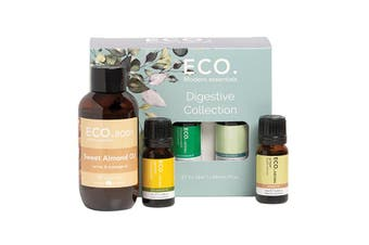 Eco Modern Essentials Aroma Essential Oil Digestive Collection Pack