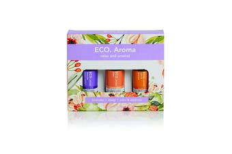 Eco Modern Essentials Aroma Essential Oil Trio Relax And Unwind 10ml x 3 Pack