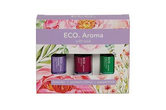 Eco Modern Essentials Aroma Essential Oil Trio With Love 10ml x 3 Pack