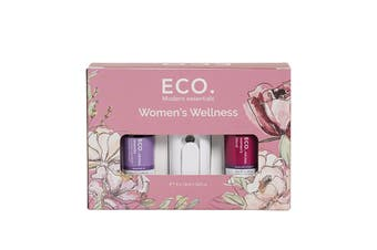 Eco Modern Essentials Aroma Essential Oil Women's Wellness 10ml x 5 Pack