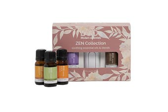 Eco Modern Essentials Aroma Essential Oil Zen Collection 10ml x 5 Pack