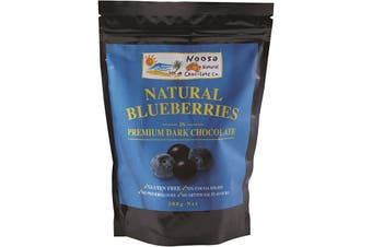 Noosa Natural Choc Co Blueberries in Premium Dark Chocolate 300g