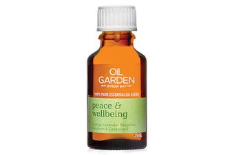 Oil Garden Essential Oil Blend Peace & Wellbeing 25ml