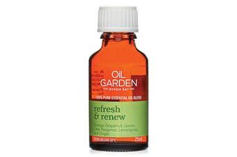 Oil Garden Essential Oil Blend Refresh & Renew 25ml