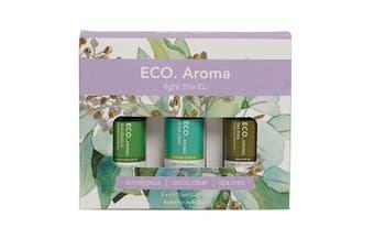 Eco Modern Essentials Aroma Essential Oil Trio Fight The Flu 10ml x 3 Pack