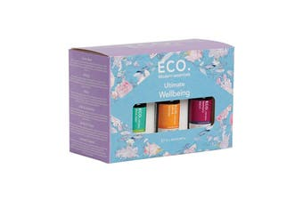 Eco Modern Essentials Aroma Essential Oil Ultimate Wellbeing 10ml x 12 Pack