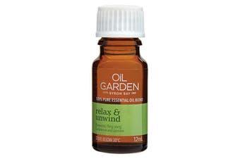 Oil Garden Essential Oil Blend Relax & Unwind 12ml