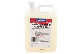Melrose H2Oil Superfine Massage Oil 1000ml