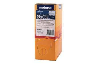 Melrose H2Oil Water Dispersible Massage Oil 2000ml