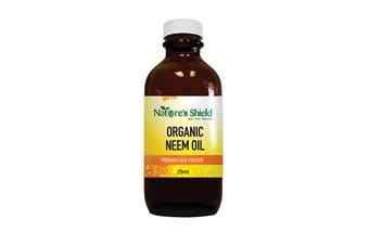 Nature's Shield Organic Neem Oil 25ml