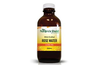Nature's Shield Wild-Crafted Rose Water 500ml