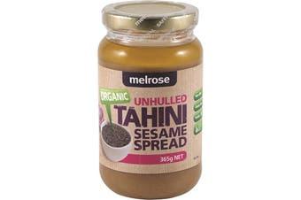 Melrose Organic Tahini Sesame Spread Unhulled 365g