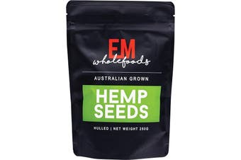 Em Wholefoods Hemp Seeds - Hulled Australian Grown 250g