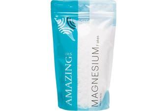 Amazing Oils Magnesium Bath Flakes Natural Relief 800g