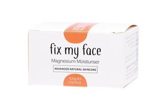 Amazing Oils Magnesium Moisturiser Fix My Face 100g