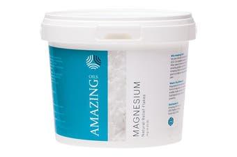 Amazing Oils Magnesium Bath Flakes Natural Relief 2kg