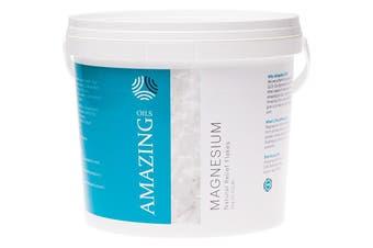 Amazing Oils Magnesium Bath Flakes Natural Relief 5kg