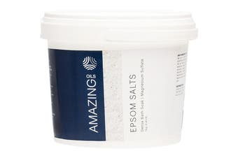 Amazing Oils Magnesium Epsom Salts Detox Bath Soak 2kg