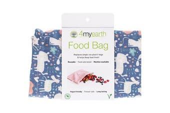 4myearth Food Bag Animals - 25x20cm 1
