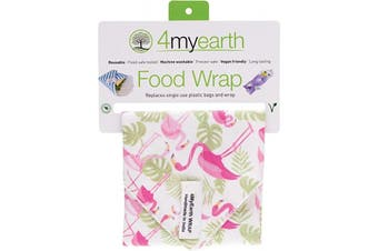 4myearth Food Wrap Flamingoes - 30x30cm 1