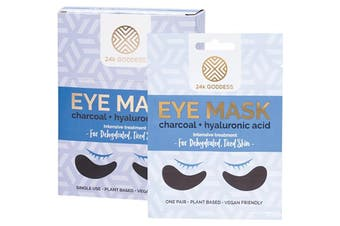 24k Goddess Eye Mask Dehydrated, Tired Skin 10 Pairs - Single Use 10