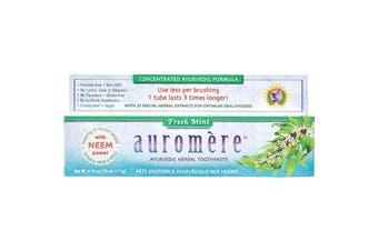 Auromere Toothpaste Ayurvedic Fresh Mint - Fluoride Free 117g