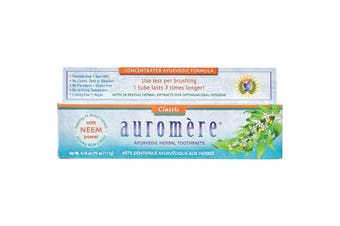 Auromere Toothpaste Ayurvedic Classic (Licorice) - Fluoride Free 117g